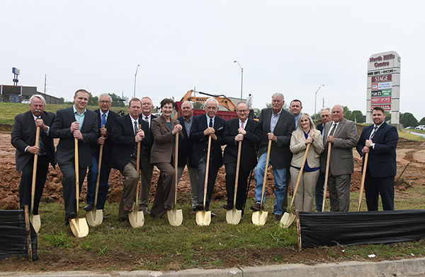 Directors Breaking Ground - group photo