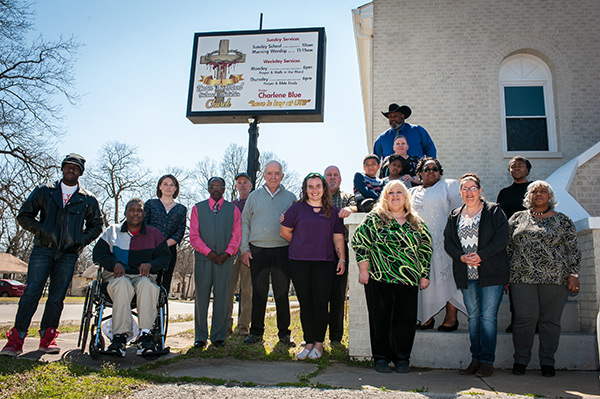 Oklahoma Heritage Bank and Under the Blood Outreach Ministries bring life back to centennial landmark Photo